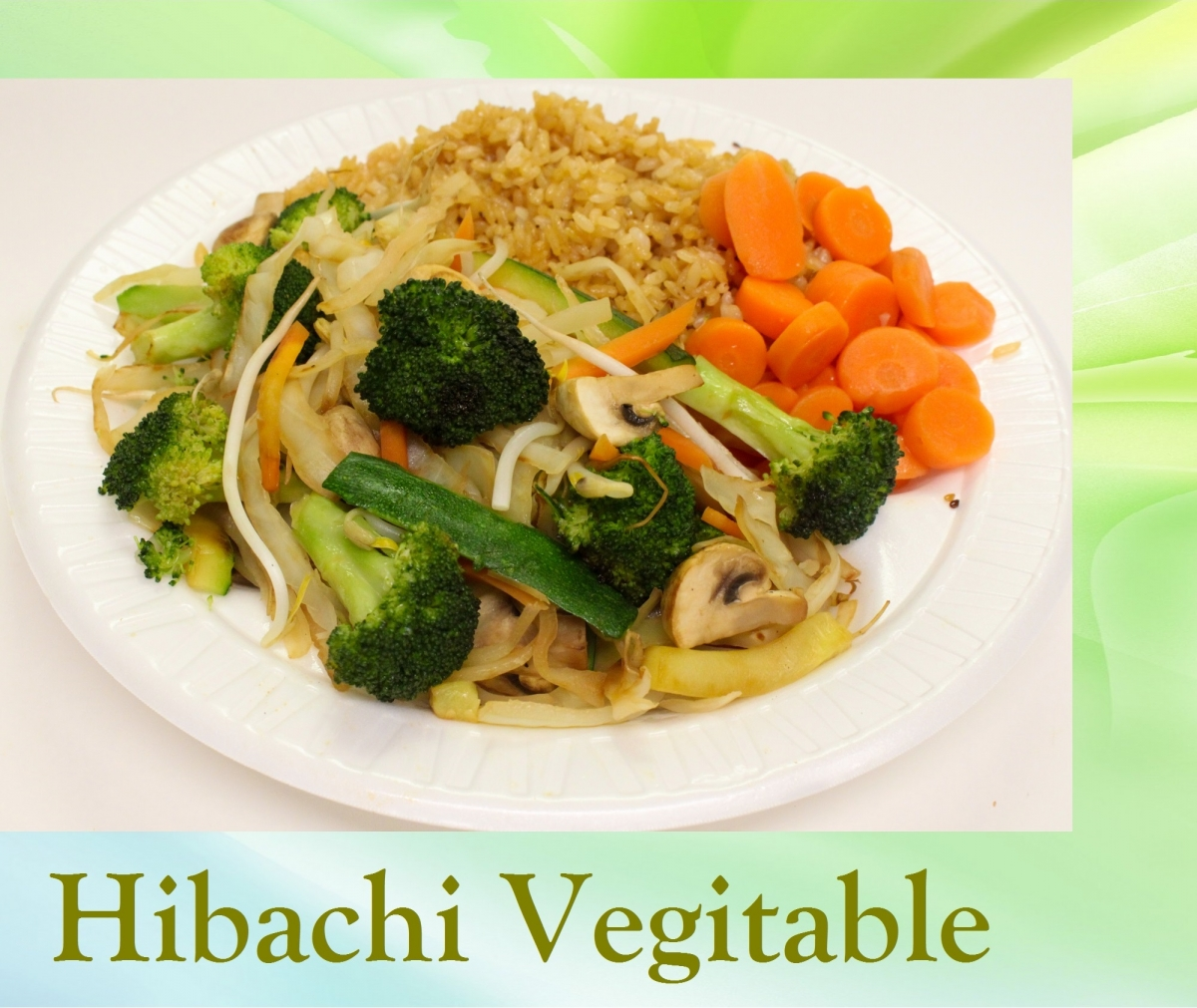 Hibachi Vegitable
