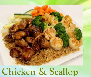 Chicken and Scallop