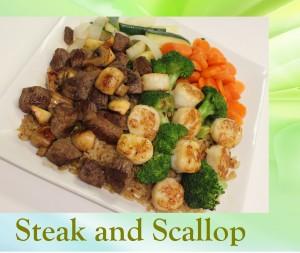 Steak and Scallop